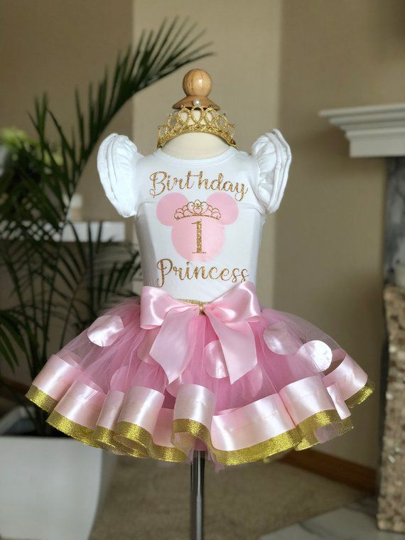 Pink Minnie Mouse Birthday Outfit Minnie Mouse 1st Birthday Minnie Birthday Shirt One Year Old Birthday Girl Outfit Minnie Party Minnie Mouse Birthday Outfit Minnie Mouse 1st Birthday Minnie Birthday