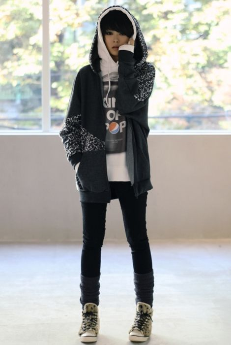 Korean Tomboy style   Androgynous in 2019   Fashion ...