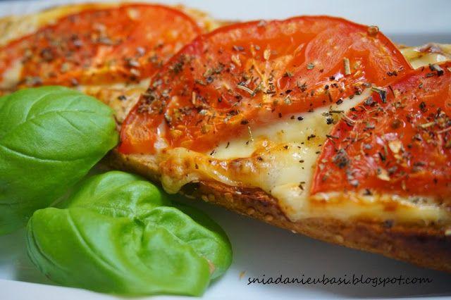 Pomysłowe i pyszne śniadania :-): Bagietka w stylu neapolitańskim