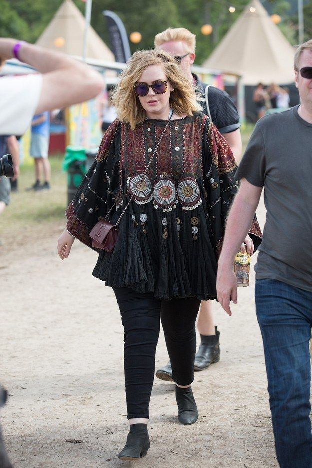 Adele | Here's All The Celebrities Who Attended Glastonbury 2015