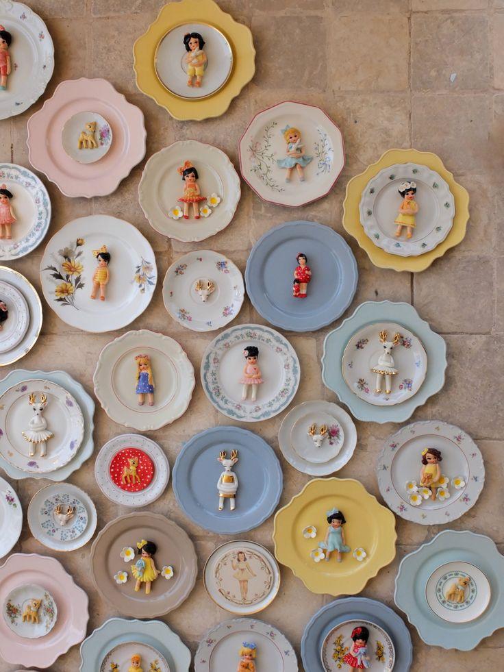 decorativ plates from my studio