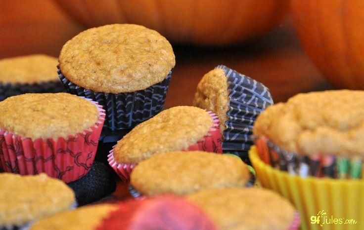 gluten free pumpkin cornbread muffins - gfJules
