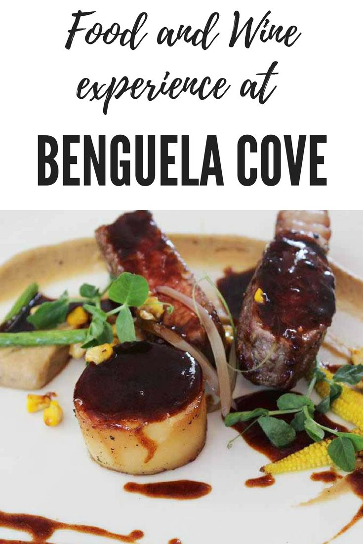 The food and wine experience at Benguela Cove was amazing and unforgettable!