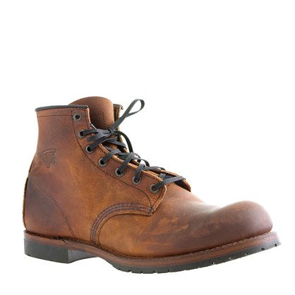 Red Wing for J.Crew Beckman boots - I might be obsessed with Red Wing boots.