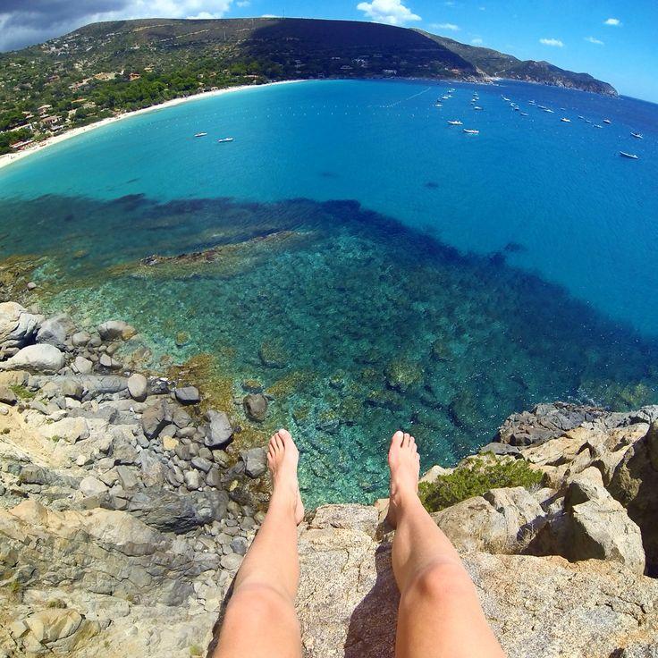 Top view Sardinië