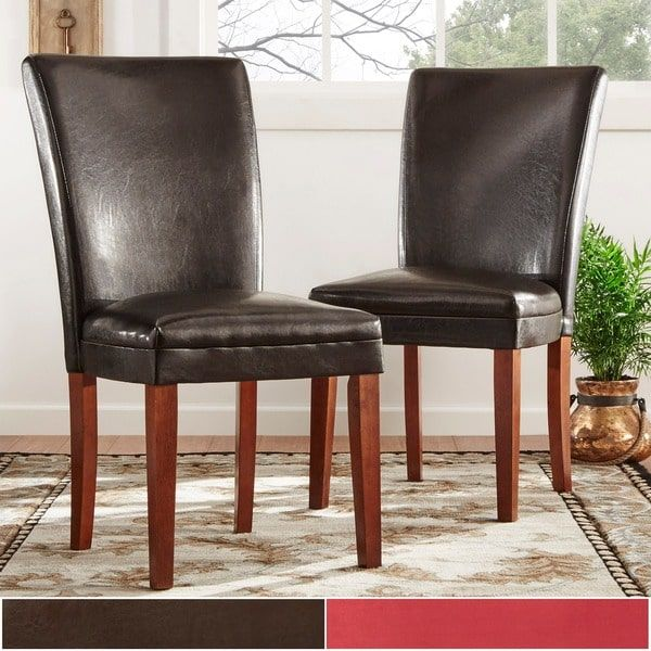 25 best ideas about leather dining chairs on pinterest for Inspire q dining room chairs