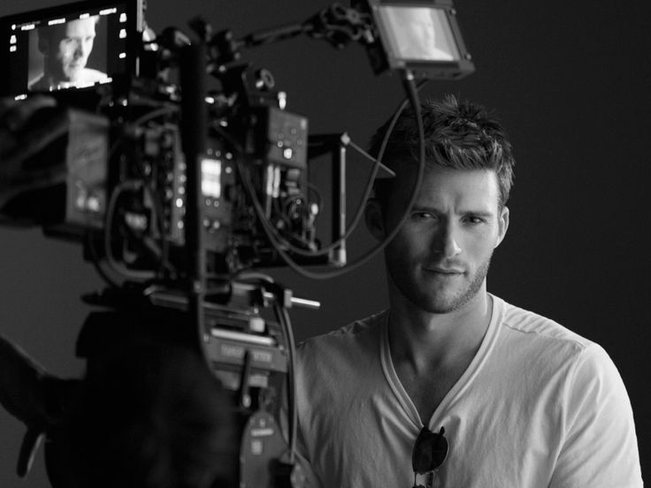 Behind the camera.... His gaze is perfect!