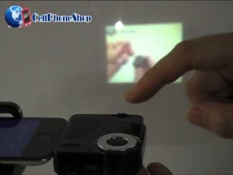 Cell Phone Shop - Mini Projector For Apple iPhone, iPad, iPod Touch