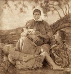 Photograph of Nelly's (Elli Souyioultzoglou-Seraidari, Aidin 1899-1998): Greek refugees from Asia Minor (Turkey)