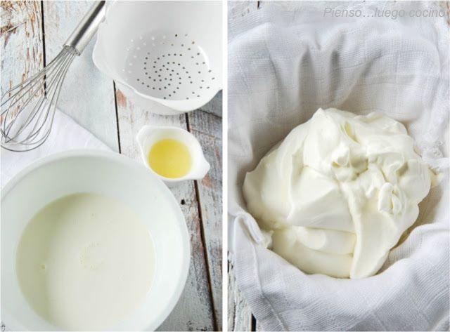 CÓMO HACER MASCARPONE. Se consigue cortando la nata (35%) con zumo de limón. Para obtener 150 grs. de mascarpone, necesitaremos 200 ml. nata (35% MG) y 15 ml. de zumo de limon. Lo batiremos con las varillas, inmediatamente veremos que va espesando. Lo pondremos en un colador con una gasa, para que pierda el suero, 24 horas tapado con film transparente en la nevera. Pasado este tiempo, removeremos y ya tendremos nuestro mascarpone listo! Se puede congelar (sin remover).