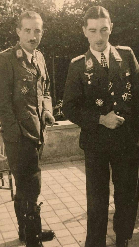Adolf Galland and Werner Molders