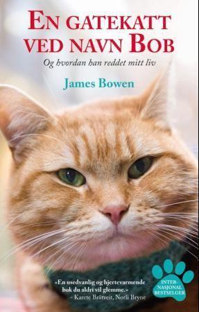 """""""En gatekatt ved navn Bob"""" av James Bowen"""