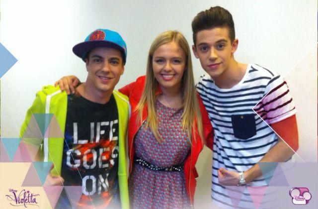 Violetta3 Maxi y Federico con una nueva actriz