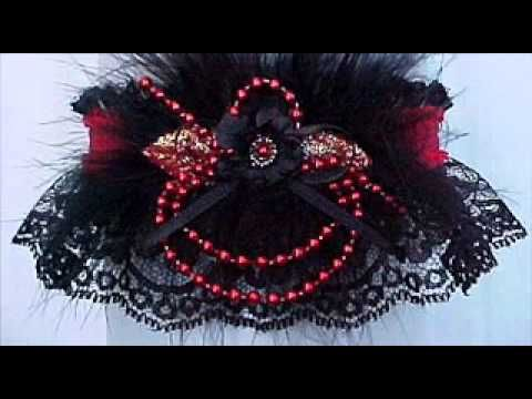 Captivating Black Garters For Wedding Bridal Or Prom Create Magic With Lace