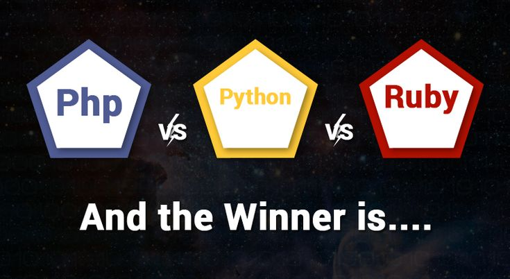 PHP vs Python vs Ruby – And the Winner Is…