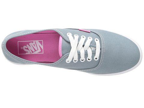 vans authentic lo pro shoes - (pop) lead  pink carnation  9e390dd65