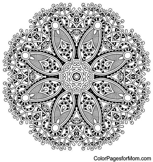 mandala coloring page 18 free sample join fb grown up coloring group