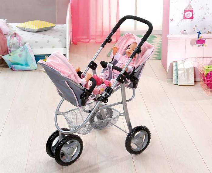 Bildergebnis für baby born doppelkinderwagen