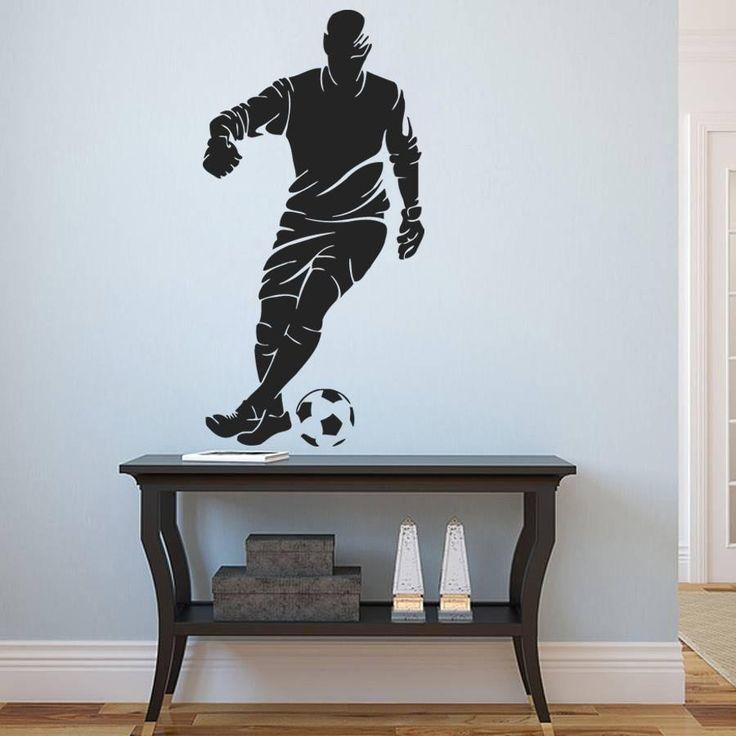 ik984 Wall Decal Sticker European football sports team game children's bedroom