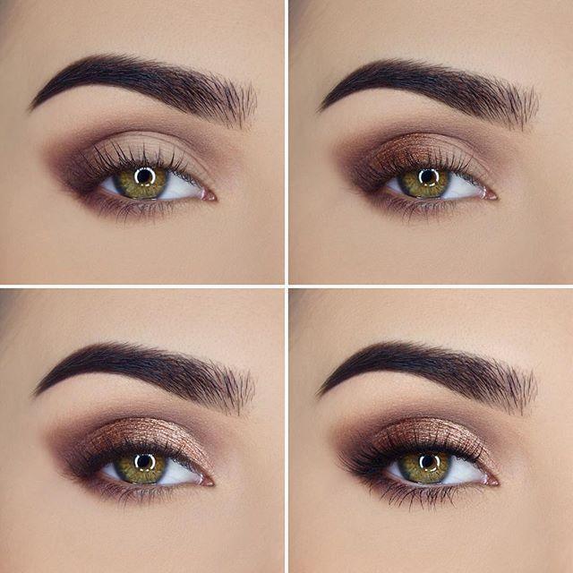 Here's a neutral eye look for ya using @toofaced Sweet Peach Palette (Luscious, Caramelized, Charmed I'm Sure, Peaches N' Cream, Tempting), @motivescosmetics Fiber Lush Mascara