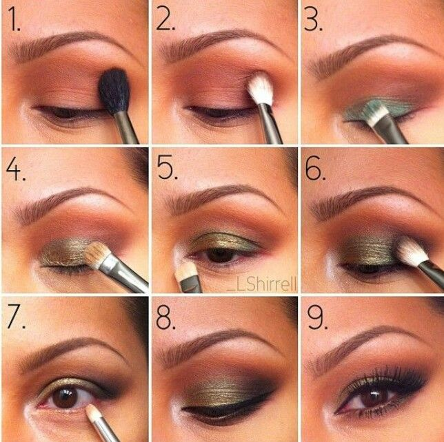 Makeup tutorial smokey eyes for beginners