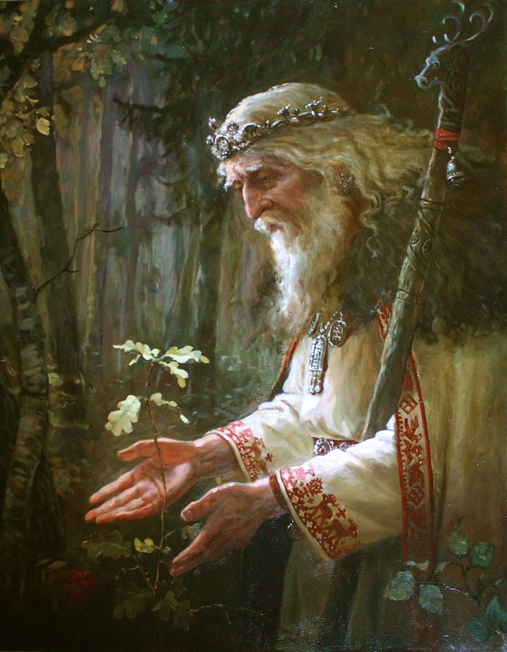 Святибор – картина художника Андрея Шишкина