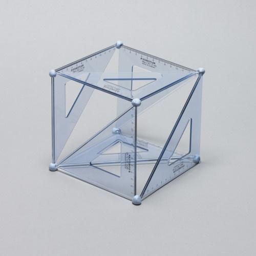Set Square Cubed by Daniel Eatock  http://designersgotoheaven.com