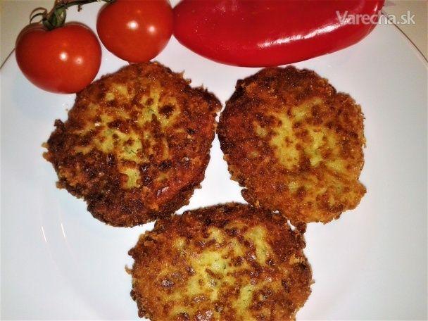 Fašírky z balkánskeho syra (fotorecept) - Recept