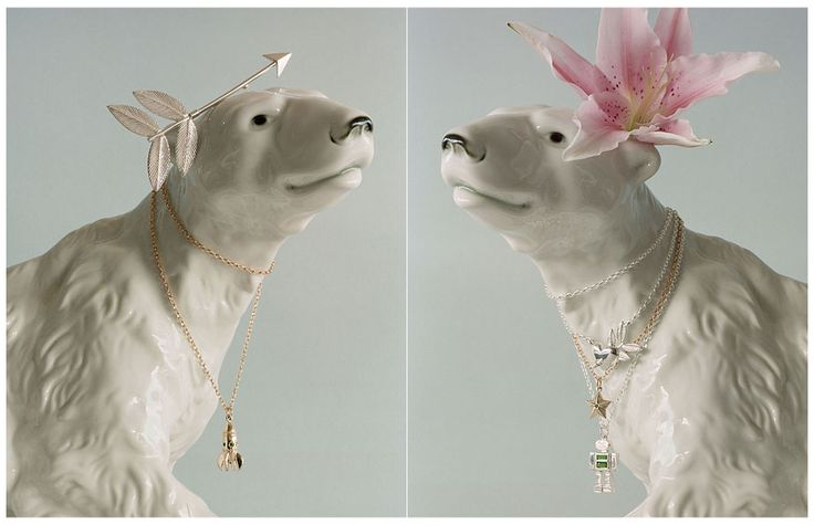 Karen Walker Jewellery: I have a few prized pieces of Karen Walker jewellery, in sterling silver. I love to wear my little bunch of carrots around my neck. This styling by Katie Lockhart rocks.