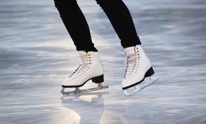 Groupon - Open-Skate Admission with Skate Rental for Two or Four at IceTown (Up to 52% Off)  in Ice Town. Groupon deal price: $15