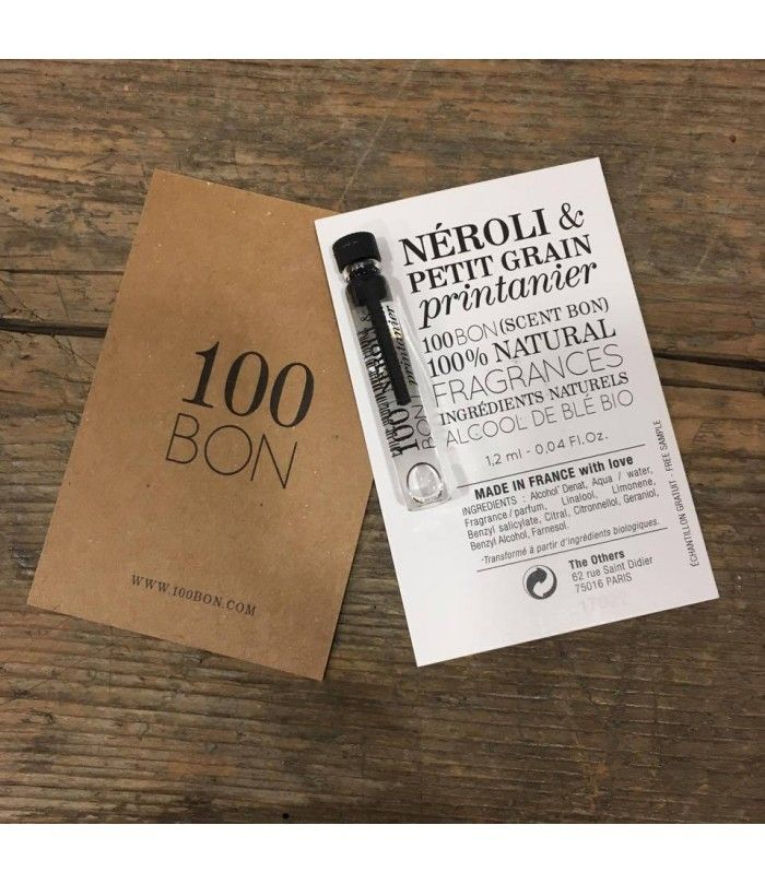 Néroli et Petit grain printanier ECHANTILLON 1,2 ml - ECOCERTIFIE