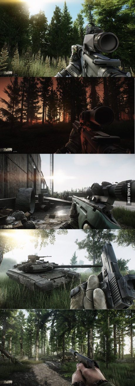 Escape from Tarkov looks really stunning