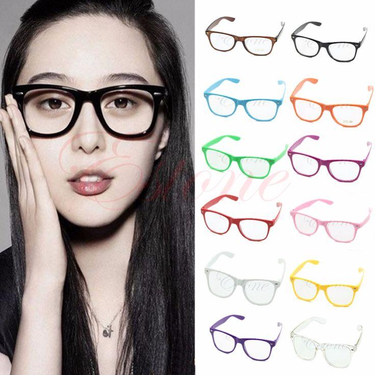 ==> [Free Shipping] Buy Best Unisex Clear Lens Wayfarer Nerd Geek Glasses Eyewear Women Online with LOWEST Price | 32802055699