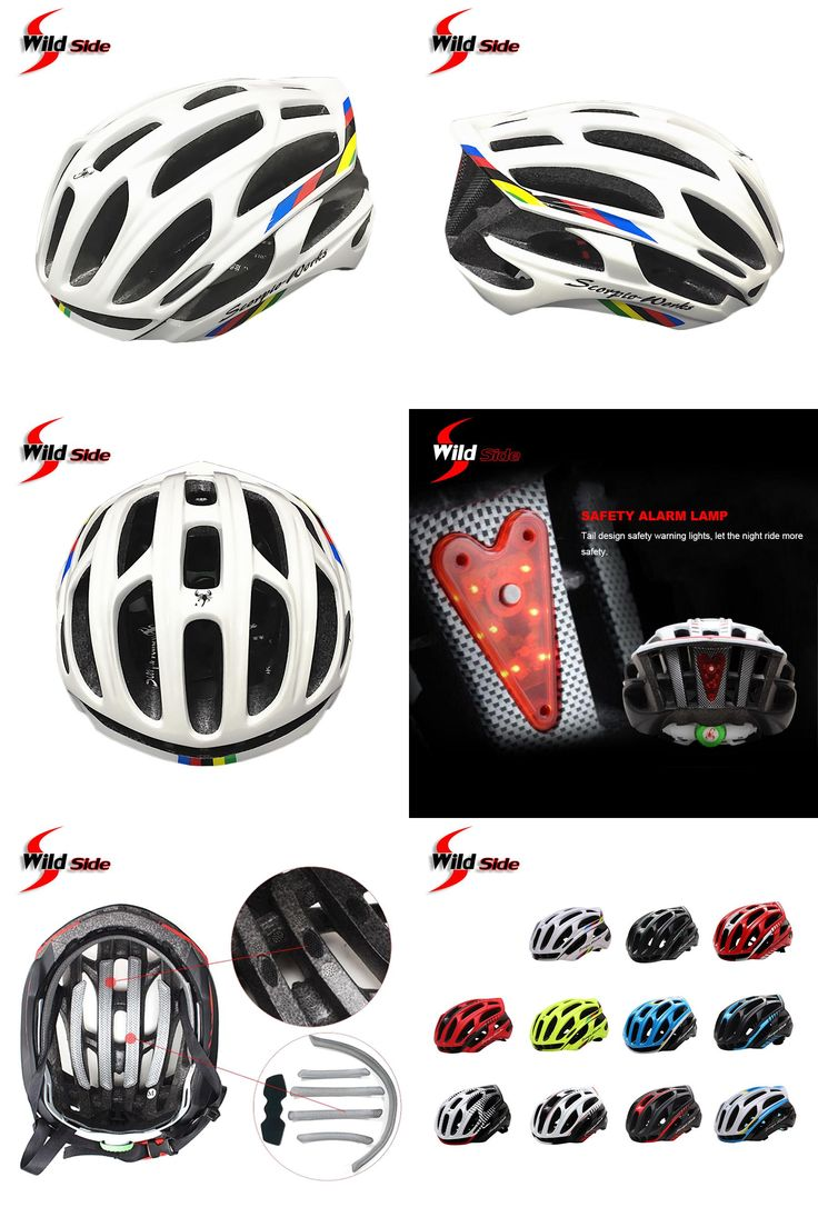 [Visit to Buy] New Cycling Helmet Road MTB Bicycle Bike Ultralight Helmets 220g With LED Warning Lights Casco Ciclismo Bicicleta Bici 11 Colors #Advertisement