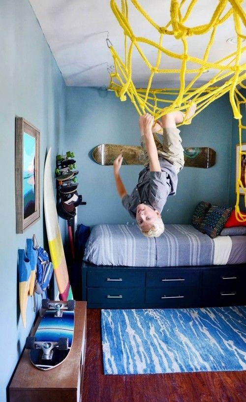 Jugendzimmer für Jungs einrichten und für mehr Kreativität sorgen sportler kl…