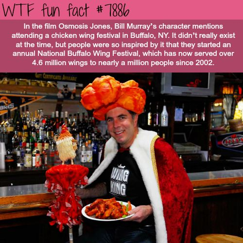 Chicken wing festival in Buffalo, NY - WTF fun facts