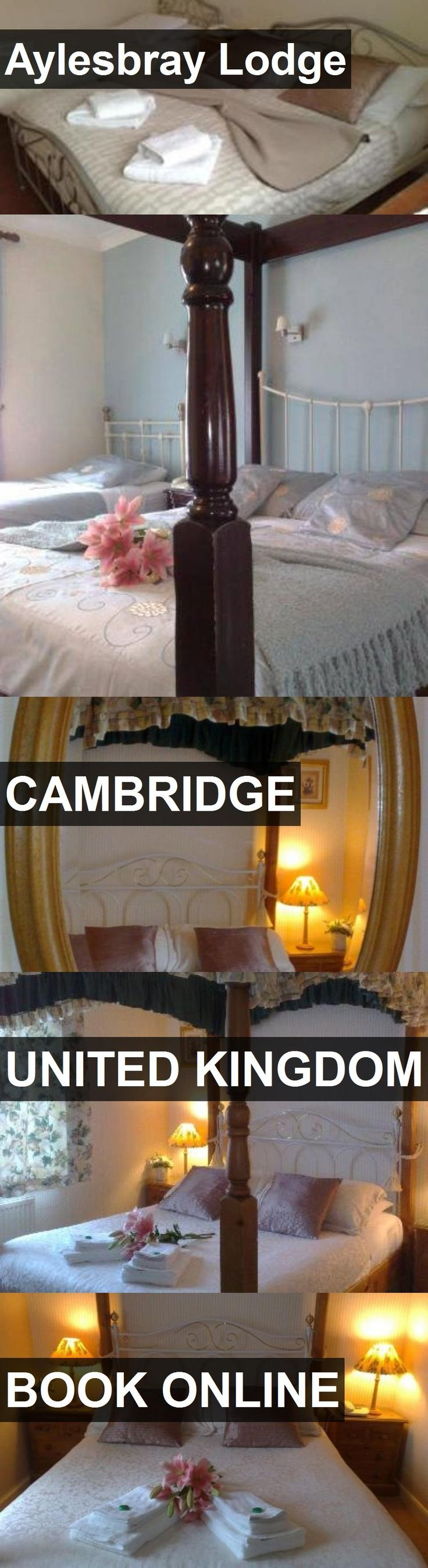 Hotel Aylesbray Lodge in Cambridge, United Kingdom. For more information, photos, reviews and best prices please follow the link. #UnitedKingdom #Cambridge #travel #vacation #hotel