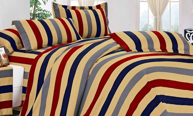 From $29 for a Contemporary Sheet and Quilt Cover Set Combo (Don't Pay up to $119.99)