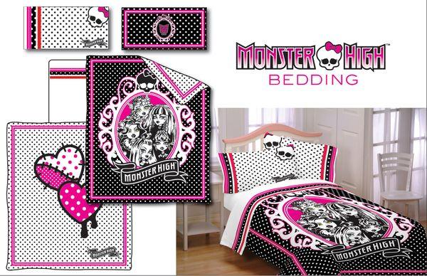 high beds monster high dolls girls bedrooms kids room bedding sets