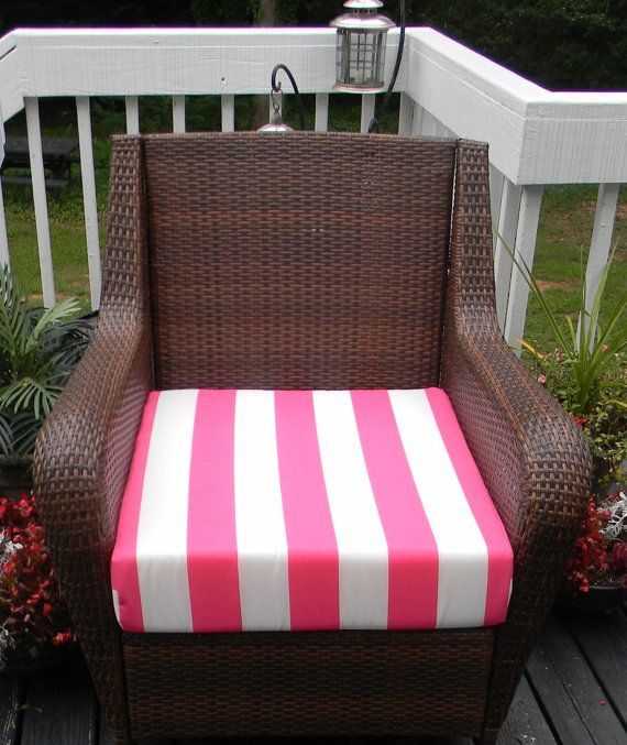Indoor / Outdoor Deep Seating Chair Cushion By PillowsCushionsOhMy, $79.96