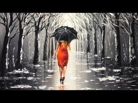 How to Paint a Rainy Day Scene with Acrylics – You…