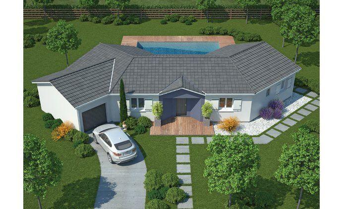la maison diamant 114 17 m constructeur maisons mca 1er constructeur national de maisons. Black Bedroom Furniture Sets. Home Design Ideas