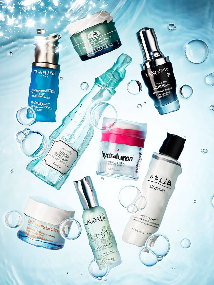 Still life photographer IanOliverWalsh.com Beauty, Product, Cosmetic, Makeup, water, bubbles, ripple, splash