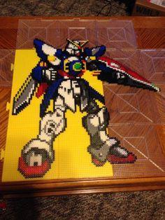 Gundam Wing Perler Bead by Amber--Lynn on DeviantArt