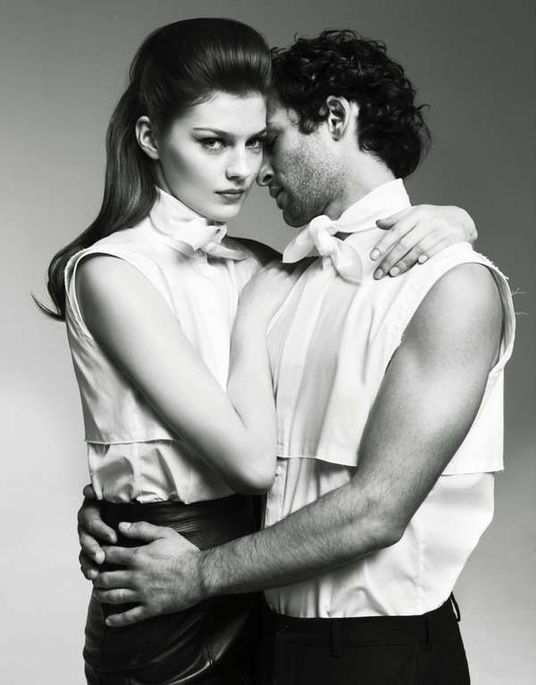Steamy couple editorials