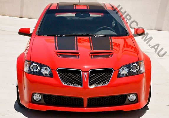Pontiac G8 GT.  Might like to have the black stripes on mine!!!