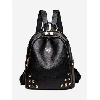 SHARE & Get it FREE | Metal Embellished Zippers BackpackFor Fashion Lovers only:80,000+ Items·FREE SHIPPING Join Dresslily: Get YOUR $50 NOW!
