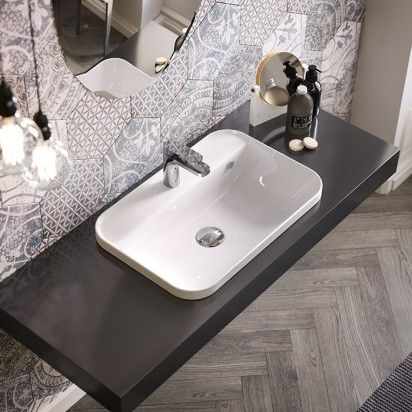 Inset Basins   Bathroom Products   Robertson Bathware