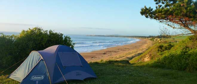 Camping tours in New Zealand