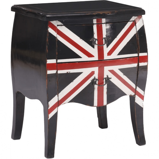 Union Jack Small Cabinet